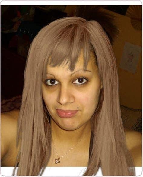 Coupe Femme Avec Frange Coupe De Cheveux Avec Meche