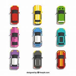 Voiture Vu De Haut : vue de dessus de neuf voitures t l charger des vecteurs gratuitement ~ Medecine-chirurgie-esthetiques.com Avis de Voitures