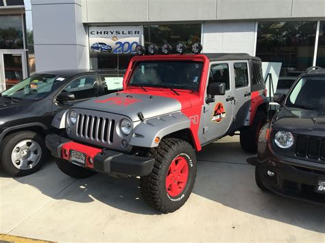 Park Wrangler by 49 Jurassic Park Jeep Wrangler Special Edition Jeep