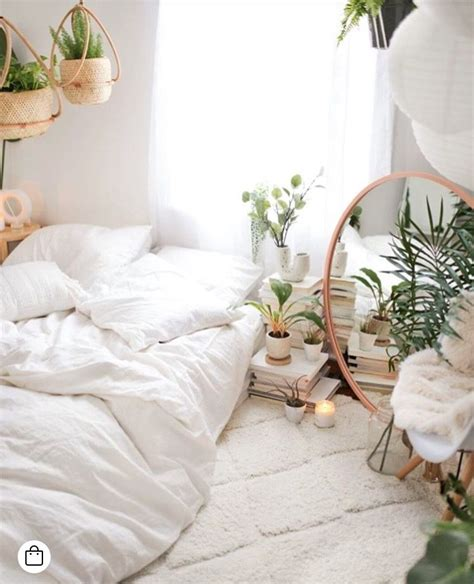 Bedroom Inspiration Plants by White Bedroom Inspiration With A Boho Vibe The Addition