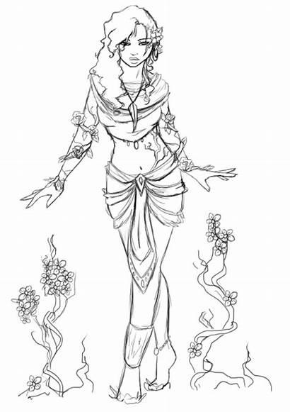 Druid Sketch Plant Pockety Deviantart Favourites
