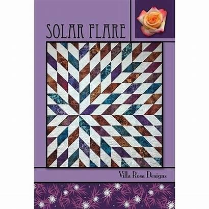 Solar Flare Quilt Pattern Villa Designs Quilts