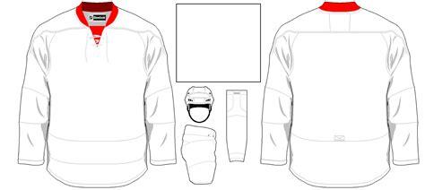 jersey template templates hockeyjerseyconcepts