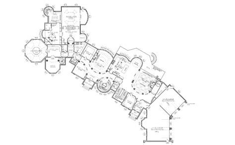 25,000 Square Foot Mansion W/ Floorplans