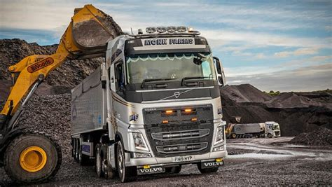 volvos leading payload figures deliver  goods  monk