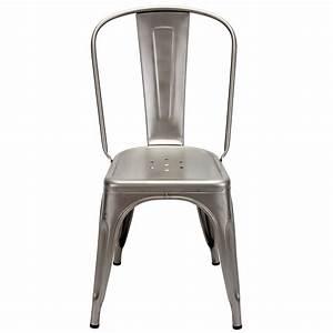 Chaise Metal Tolix : tolix chaise tabouret table fauteuil bureau rangement chaise a tolix design industriel ~ Teatrodelosmanantiales.com Idées de Décoration