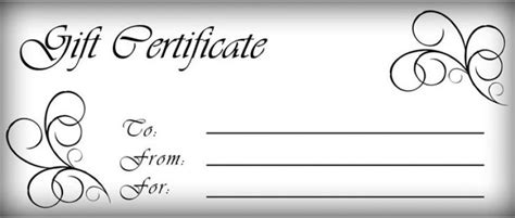 Free Downloadable Gift Certificate Templates by Downloadable Gift Certificate Template Ieha Us