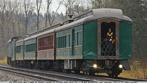 historic railway cars   reprieve  tyee