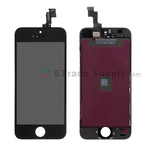 iphone 5s replacement screen apple iphone 5s lcd screen assembly etrade supply