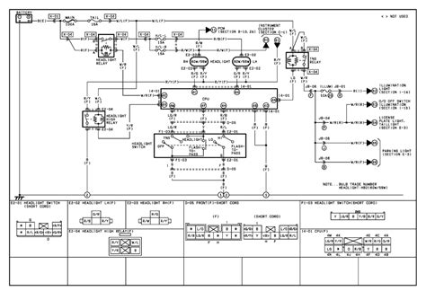 2001 Mazda 626 Fuel Wiring Diagram by 2001 Mazda 626 Headlight Wiring Diagram Mazda Free