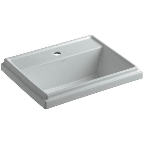 Kohler Tresham Sink Home Depot by Kohler Tresham Drop In Vitreous China Bathroom Sink In