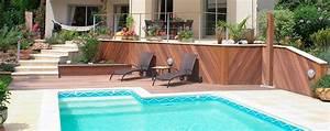 piscine exterieur amenagement accueil design et mobilier With mobilier de piscine design 1 exotique paysage