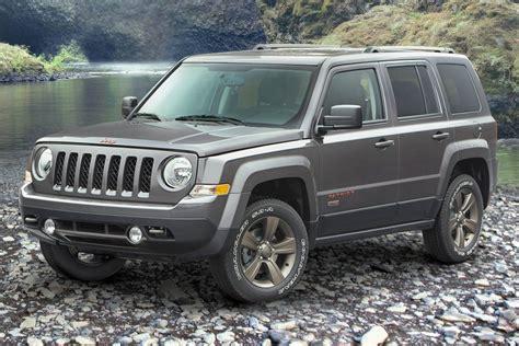 jeep patriot back 2017 jeep patriot pricing for sale edmunds