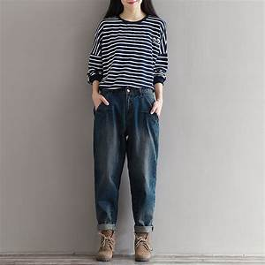 Womens Baggy Jeans Boyfriend Style Promotion-Shop for ...