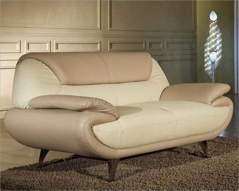 modern  tone bonded leather sofa set