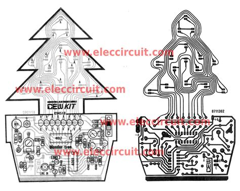 christmas light chaser circuit christmas led flasher circuit controlled by audio