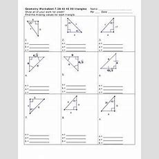 454590 Triangles Worksheet For 10th Grade  Lesson Planet