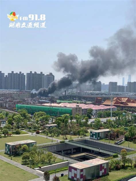 突发!长沙月湖大市场内突发大火 浓烟滚滚_大湘网_腾讯网
