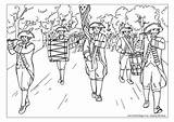Parade July Coloring Pages Colouring Fourth Adult 4th Marching Classroom Activityvillage Helpers Band Books Printable Explore Fox Games Bear Summer sketch template