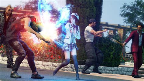 yakuza   dragon details dancer fortuneteller riot
