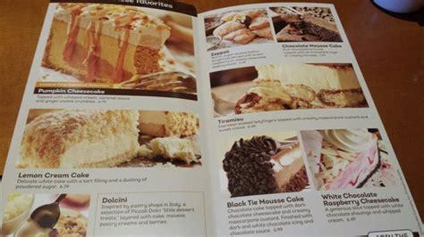 olive garden dessert menu olive garden south menu prices restaurant