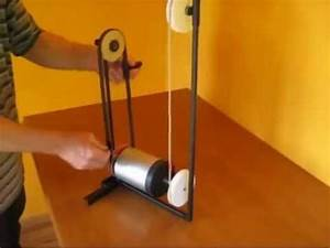 Invention - motion converter linear to circular - YouTube