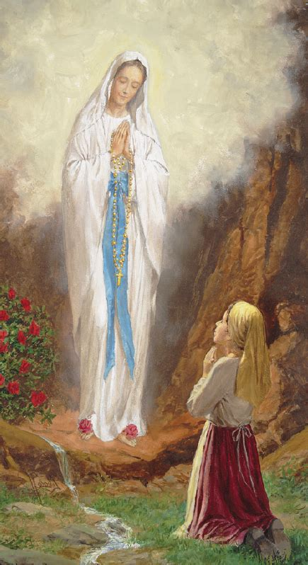 novena   lady  lourdes rosary shrine  saint jude