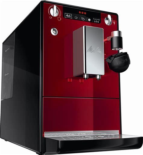 melitta kaffeevollautomat melitta caffeo lattea kaffeevollautomat rot schwarz bean to cup coffee machines computeruniverse