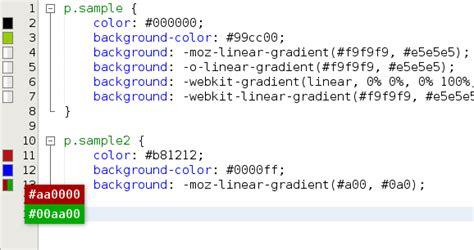 java color codes color codes preview netbeans plugin detail