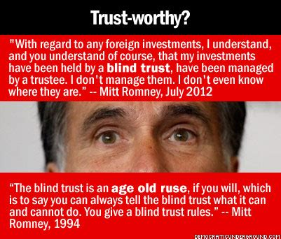 what is blind trust perception management you re being played willards