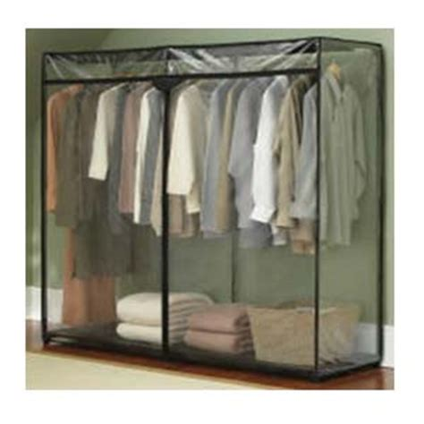 60 inch portable storage closet with shoe rack
