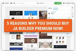 5 reasons why you should buy JA Builder Premium NOW ...