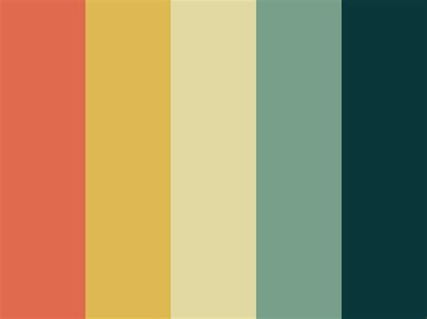 vintage color 25 best ideas about vintage color palettes on