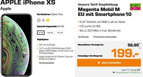 iphone xs media markt media markt iphone xs mit lte allnet flat ohne drosselung
