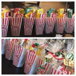 christmas gift for my employees movie ticket popcorn and candy creative giving