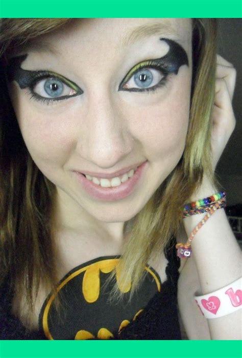 batman inspired makeup melissa js meljaeg photo