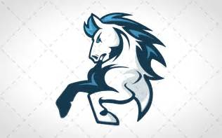 Team Horse Mascot Logo