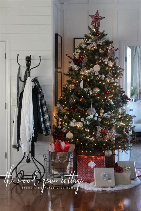 our christmas tree the wood grain cottage