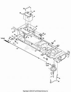 Mtd 13ax90yt001  2010  Parts Diagram For Frame  Electrical