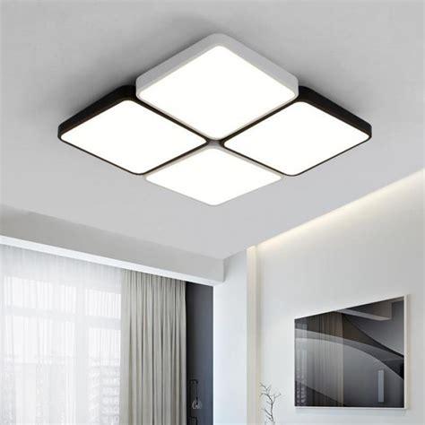 Led Lights For Big Room by Square 4 12 Pcs Led Lights For Office Living Room Study