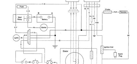 dazon 150cc go kart parts wiring diagram