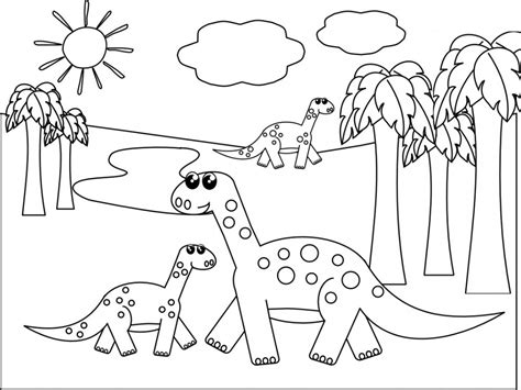 dinosaur coloring pages preschool dinosaur coloring pages for 159
