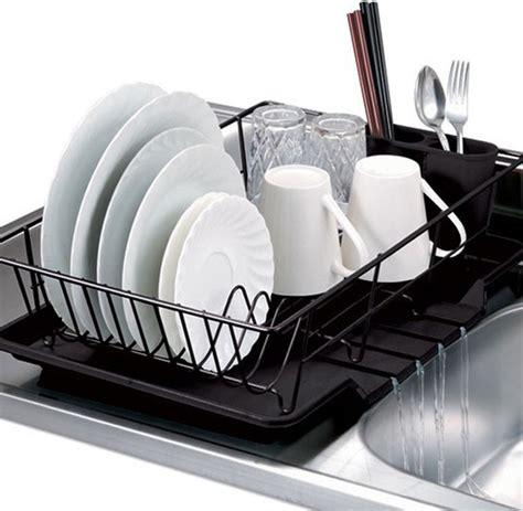 dish drainer rack black 3 dish drainer set contemporary dish racks