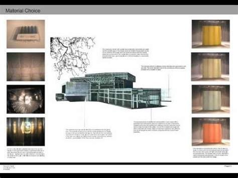 12009 undergraduate architecture student portfolio exles part 1 architecture degree portfolio