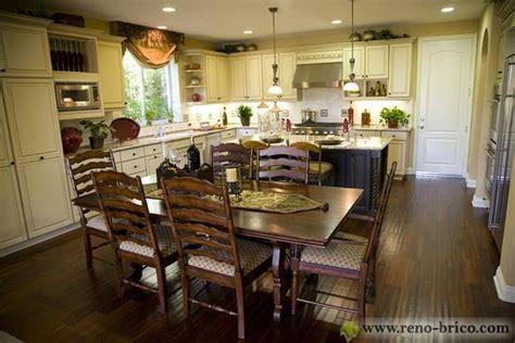 cuisine aire ouverte décoration cuisine et salon aire ouverte