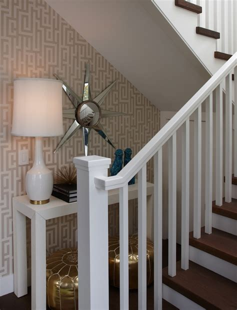 moroccan design tiles the stairs table contemporary entrance foyer k