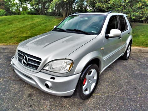 Mercedes Ml55 by 2001 Mercedes M Class Ml55 Amg No Reserve 2001