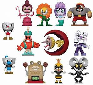 Buy Small Trading Figures CUPHEAD MYSTERY MINI FIGURES
