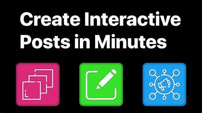 Interactive Posts Social Started
