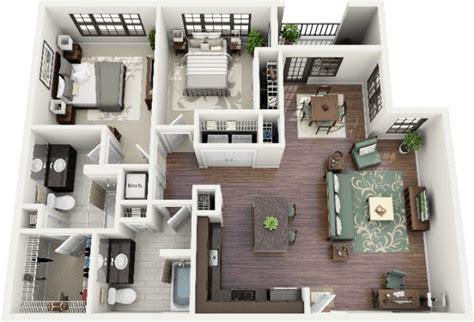 plan appartement 2 chambres plan appartement 3 chambres